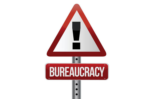 bureaucracy warning!